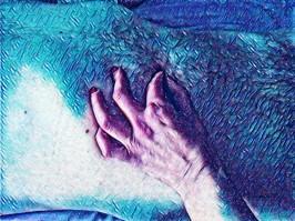 Pelusas azules