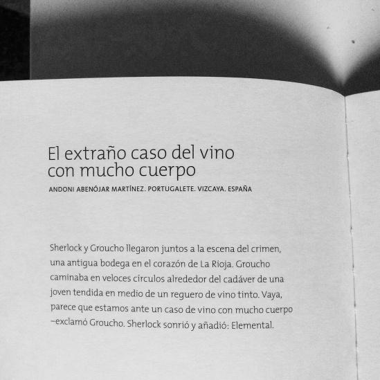 El extraño caso del vino con mucho cuerpo