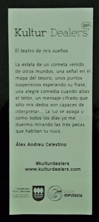 El teatro de mis sueños, de Álex Andreu