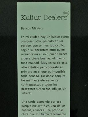Bancos mágicos, de Martín Lamos (Parte 1)